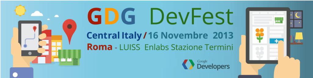 GDG DevFest Rome 2013